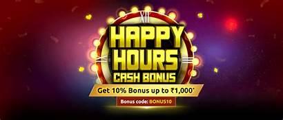 Bonus Offer Happy Hours