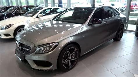 2015 2016 Mercedes-benz C-class C450 Amg 4matic Detailed