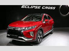 2018 Mitsubishi Eclipse Cross makes an impressive debut at