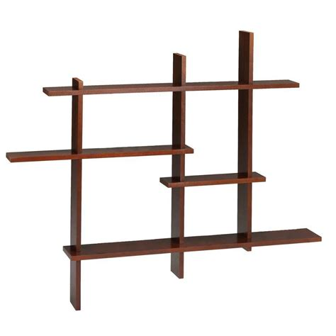 home depot shelf home decorators collection 41 in x 48 5 in mahogany