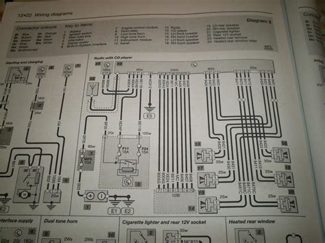 307 sw 2007 rd4 radio wiring diagram peugeot forums