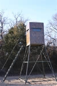 Tower Deer Stands Box Blinds