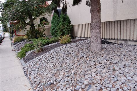 Decorative Stone Mulch Landscaping