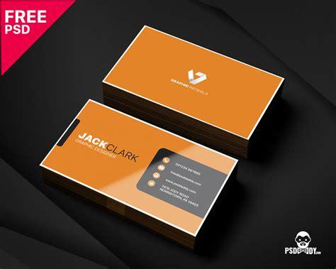 modern corporate business card template psddaddycom