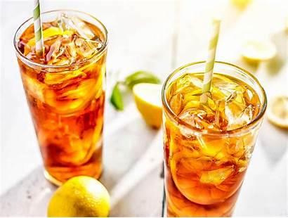 Iced Tea Lemon Sweet Ice Glasses Lots