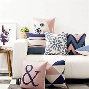 Decorative throw pillows case Nordic Style Geometric ...