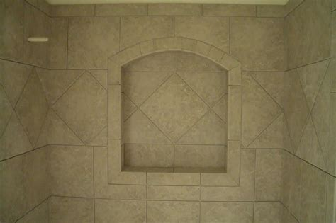 porcelain tiles how to build a niche for your shower part 4