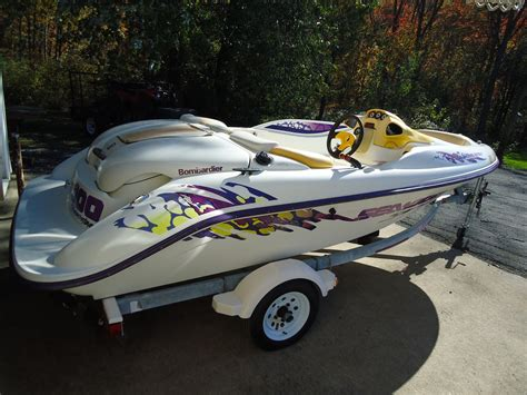 Speedster Boat by Seadoo Speedster Boat And Trailer For Sale For 1 200
