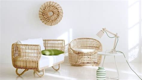nest sustainable rattan decor  scandinavian charm