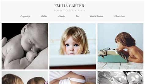 create  photography website top  website builders