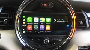 Comment Mettre Waze Sur Carplay : mini cooper s l 39 essai techno d 39 une anglaise ultra connect e les num riques ~ Medecine-chirurgie-esthetiques.com Avis de Voitures
