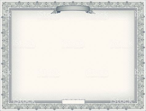 certificate templates with photos certificate template with elegant silver decorated border
