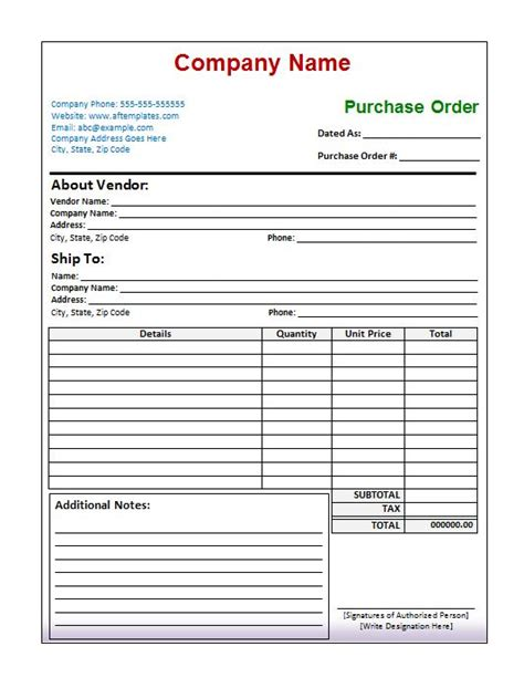 free purchase order template 39 free purchase order templates in word excel free template downloads