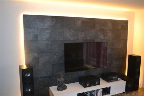 Wand Mit Laminat Verkleiden by Idee Tv Wand Aus Laminat Home Design Wand