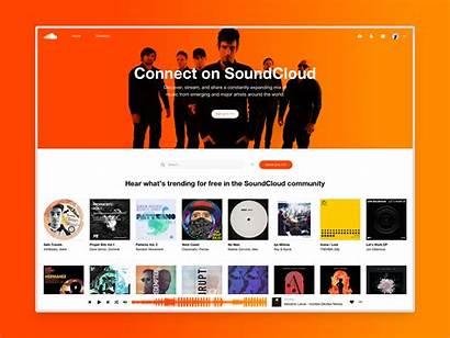 Soundcloud Redesign Concept Behance