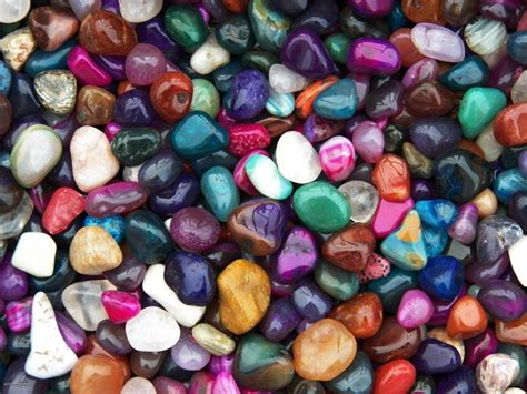2000 carat lots of size 6 tumbled polished gemstones a free faceted gemstone ebay