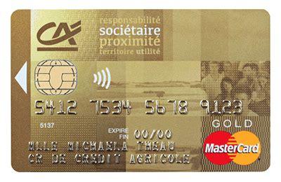crdit agricole touraine poitou carte gold mastercard