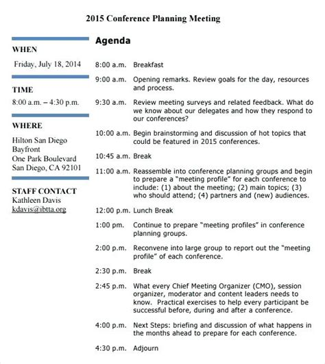 Timeline Memo Template by Conference Planning Conference Planning Timeline Checklist