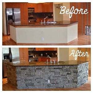 best 25 stone kitchen island ideas on pinterest stone With kitchen cabinets lowes with rock band wall art