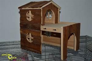 Cabane Pour Chien : accessoire cabane pour rongeurs natural living bjork ~ Melissatoandfro.com Idées de Décoration