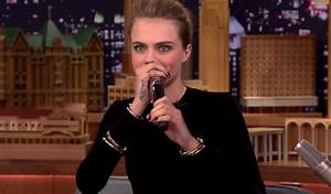 Cara Delevingne Shows Off Her Beatboxing Skills on Jimmy ...
