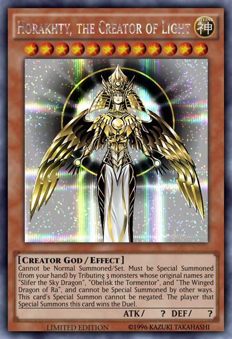 the creator god of light horakhty deck horakhty the creator of light request by sangmaitre