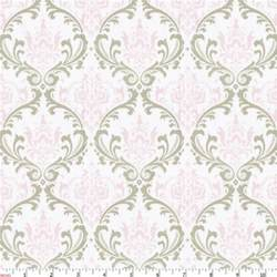 damask chair covers pink and taupe damask fabric by the yard pink fabric