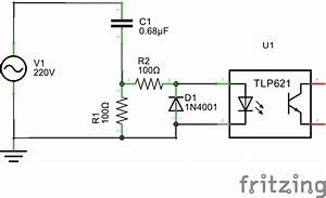 sensing ac high voltage to microcontroller electrical With the schematic shows the microcontroller that was used along with the