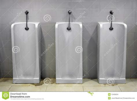Urinals Stock Images   Image: 12439204