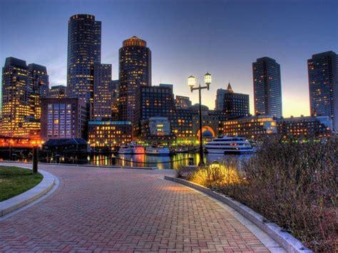 Permalink to Boston Cityscape Wallpaper