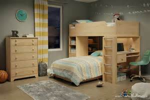 cool bunk bed desk combo ideas for bedroom