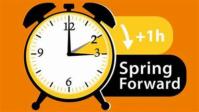 Forward Spring Clocks Daylight Saving Change Hour