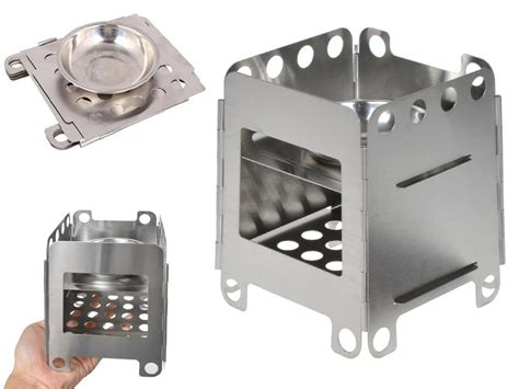 Portable Cooking Stove Backpacking Outdoor Survival Wood Burning Camping Hiking Stove Top Deep Fryers Single Gas Burner Napoleon Stoves Reviews Us Fireplace Insert Airtight Wood Burning Steamer Kettle Outside Centennial