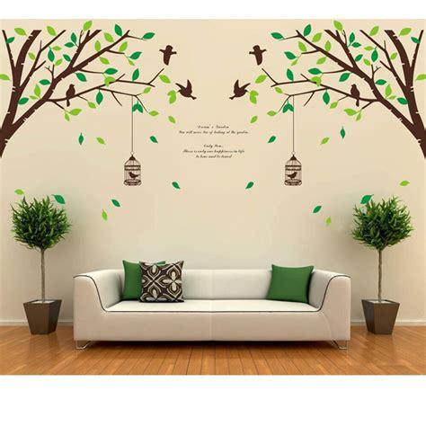 Tree Bird Removable Room Vinyl Decal Art Wall Home Decor