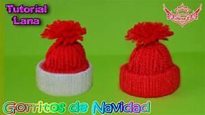 Tutorial: Gorritos Navideños de Lana ♥ YouTube