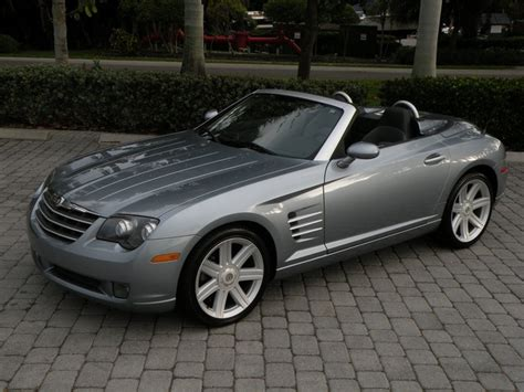 chrysler sports car convertible pics for gt chrysler crossfire 2005 convertible