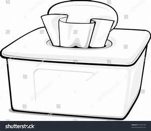 Outline Generic Box Wipes Stock Vector 70241704 - Shutterstock