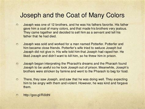 coat of many colors in the bible silver color meaning biblical