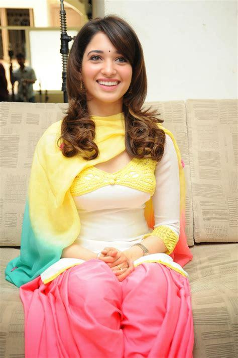 beautiful actress shooting kiss tamanna bhatia hot in veeram stills tamanna bhatia hot