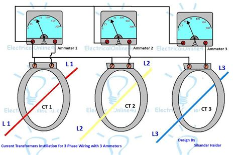 do it by self with wiring diagram current transformer installation for three phase power supply