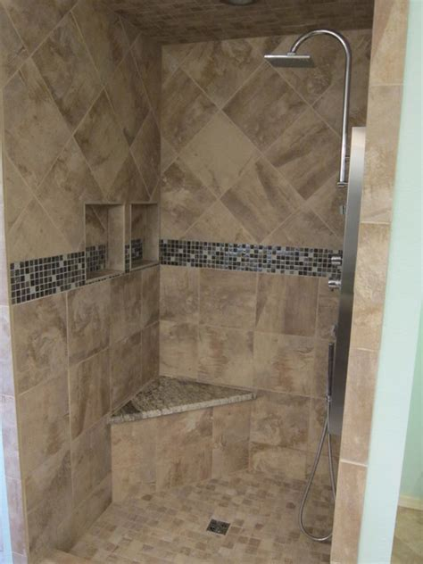 The Tile Shop Dallas by Bathroom Shower Remodel Project Contemporary Bathroom