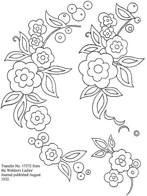 Hand embroidery flower designs diy embroidery patterns basic embroidery stitches hand embroidery videos embroidery stitches tutorial embroidery flowers pattern creative. Brush embroidery template?   cake-brush embroidery ...