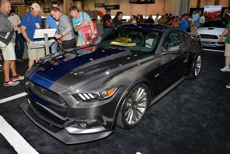 ford mustang voted hottest coupe   sema show