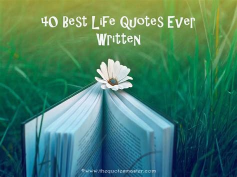 life quotes  written