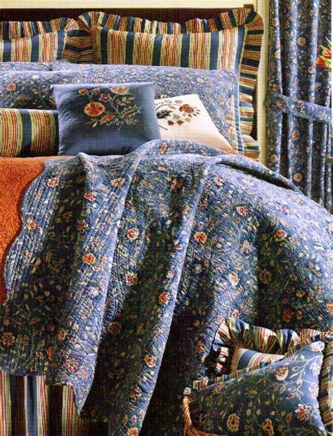 Blue Coverlets For Beds by Wakefield Blue Quilt Williamsburg Cottage