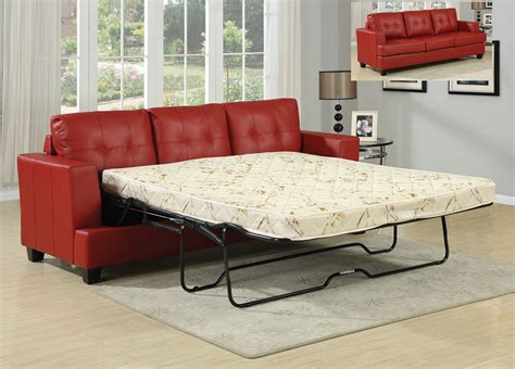 red sleeper sofa queen sofa bed sleeper red leather sofa queen sleeper
