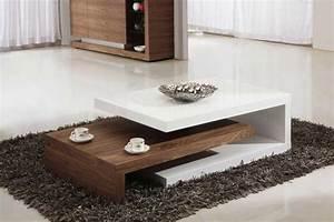Designer Moderne Couchtische : design couchtische modern holz weiss teppich hochflor ~ Frokenaadalensverden.com Haus und Dekorationen