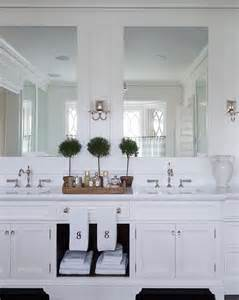 Bathroom Cabinets Ideas Designs Traditional Shingle Home With Blue And White Interiors Home Bunch Interior Design Ideas