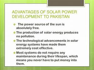 Solar Power Ppt