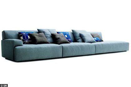 canapé à composer tonalité chic pour un grand canapé côté maison